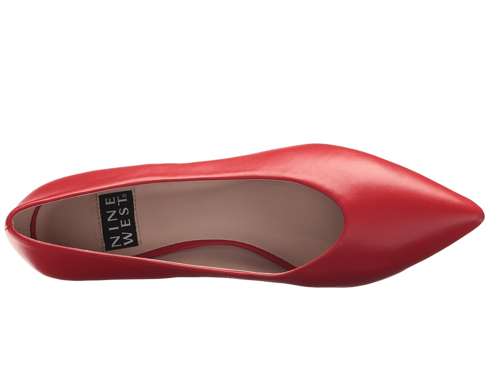 664c89582b138 Nine West Kendra 40th Anniversary Pump Women's Slip on Shoes Red ...