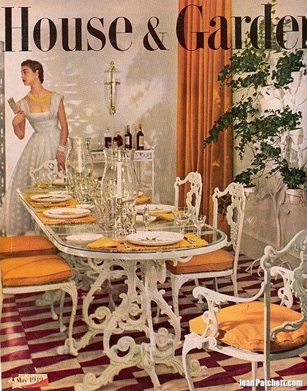 Jean Patchett cover House & Garden Magazine May 1949