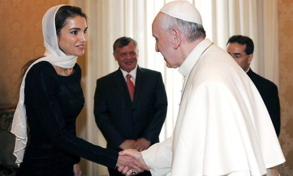 Royals Meet The Pope 14 Memorable Moments Jordanie
