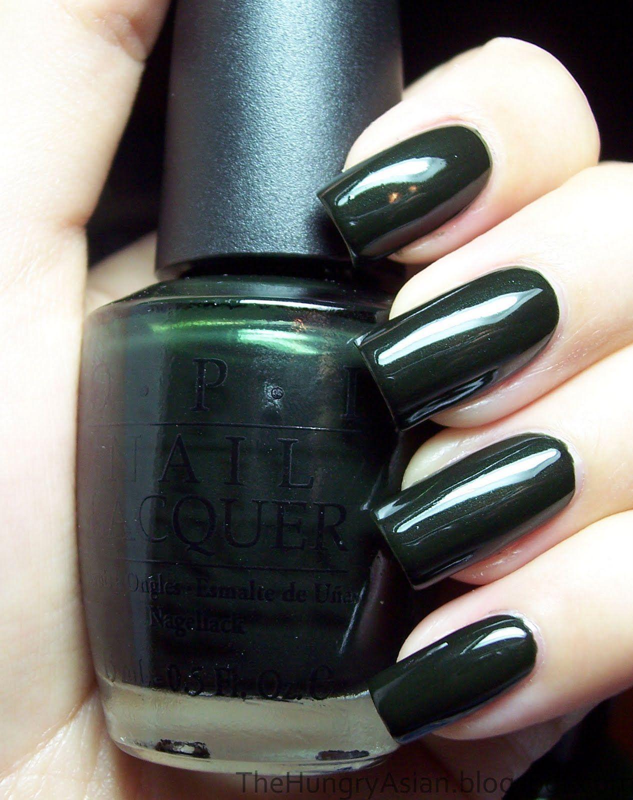 Opi Here Today Aragon Tomorrow Nail Polish Opi Nail Polish Colors Green Nails