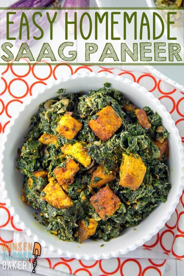Easy Homemade Saag Paneer Recipe In 2020 Saag Paneer Recipe Saag Paneer Indian Food Recipes