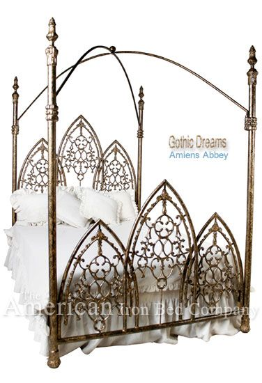 Gothic Antique Cast Iron Bed Frames Iron Bed Cast Iron Bed