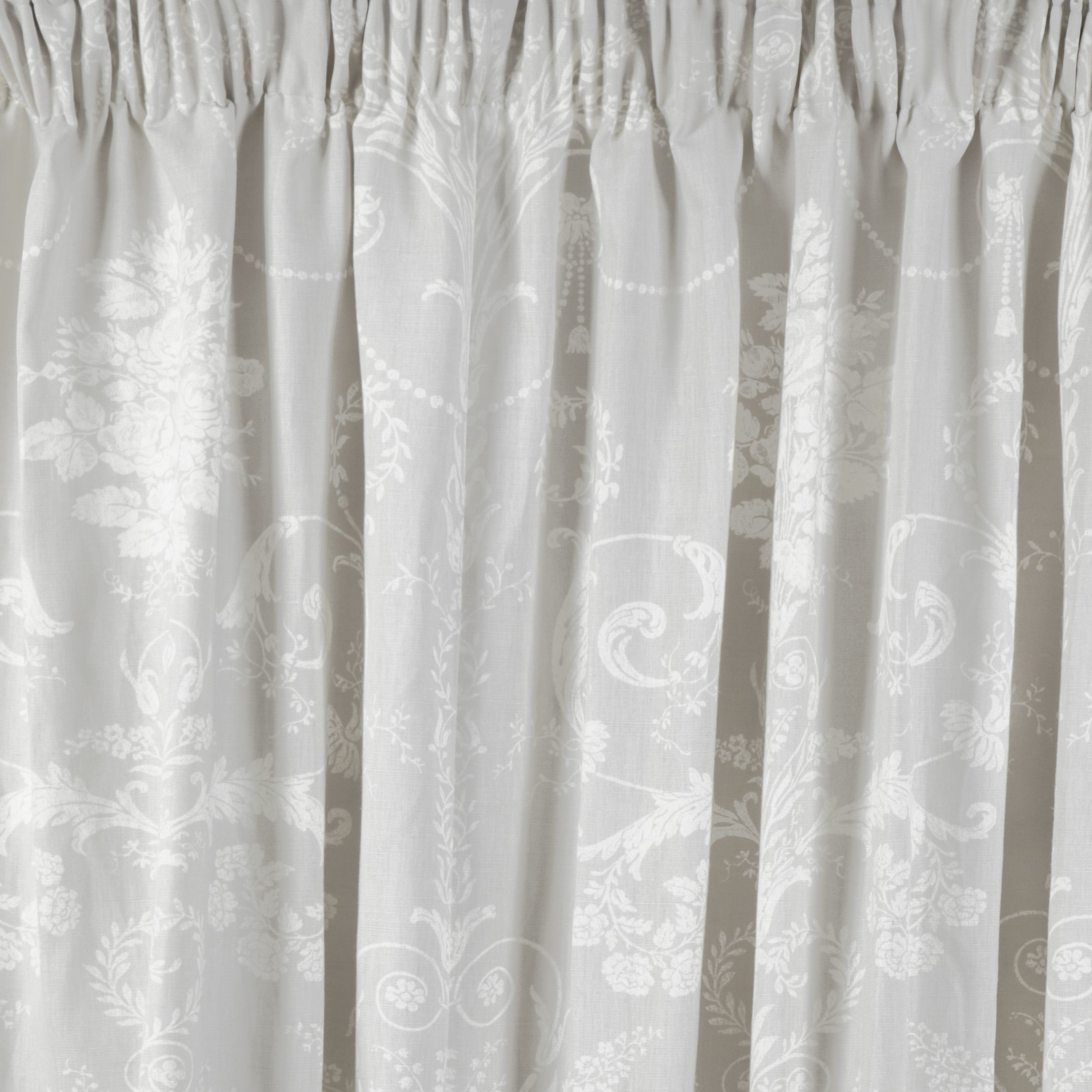 Josette Dove Grey Ready Made Curtains At Laura Ashley