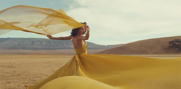 "One of the most beautiful dresses ever... from Taylor Swift's ""Wildest Dreams"" video.  Love her!!"