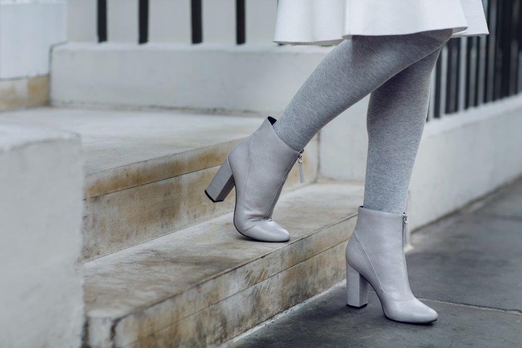 Buty damskie szare SBU0545 buty TOP SECRET Odzieżowy