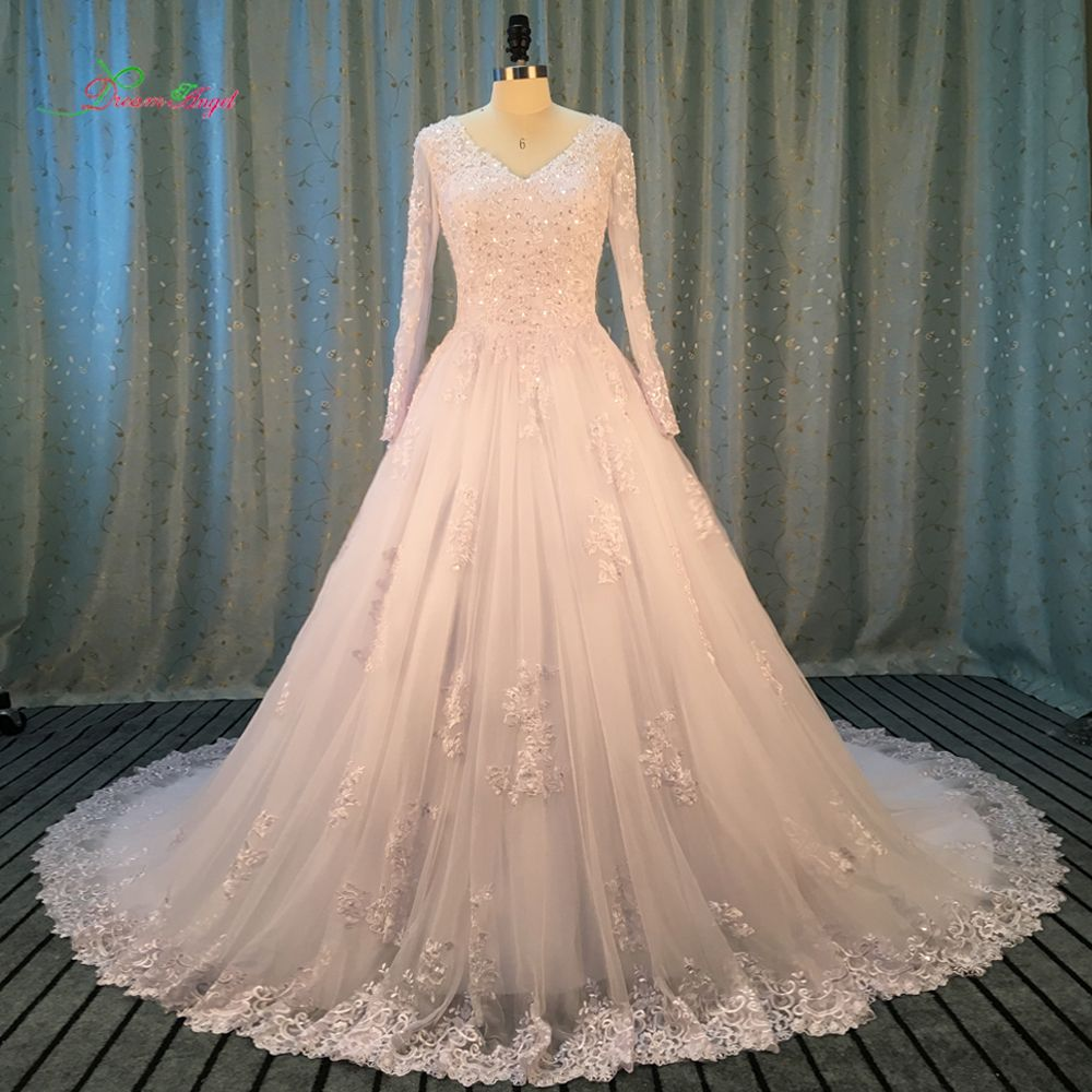 Vintage wedding dresses with sleeves  Cheap bridal gown Buy Quality sleeve princess wedding dress