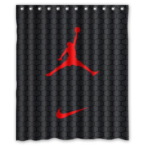 Nike Jordan Air Custom Decorative Shower Curtain Exclusive Design