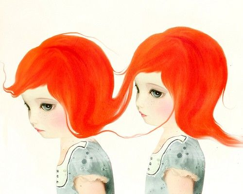 Red Haired Twins