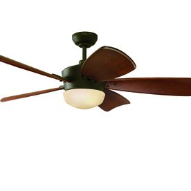 Find Harbor Breeze Saratoga Oil-Rubbed Bronze Downrod Mount Ceiling Fan  with Light Kit and Remote at Loweu0027s. Lowes offers
