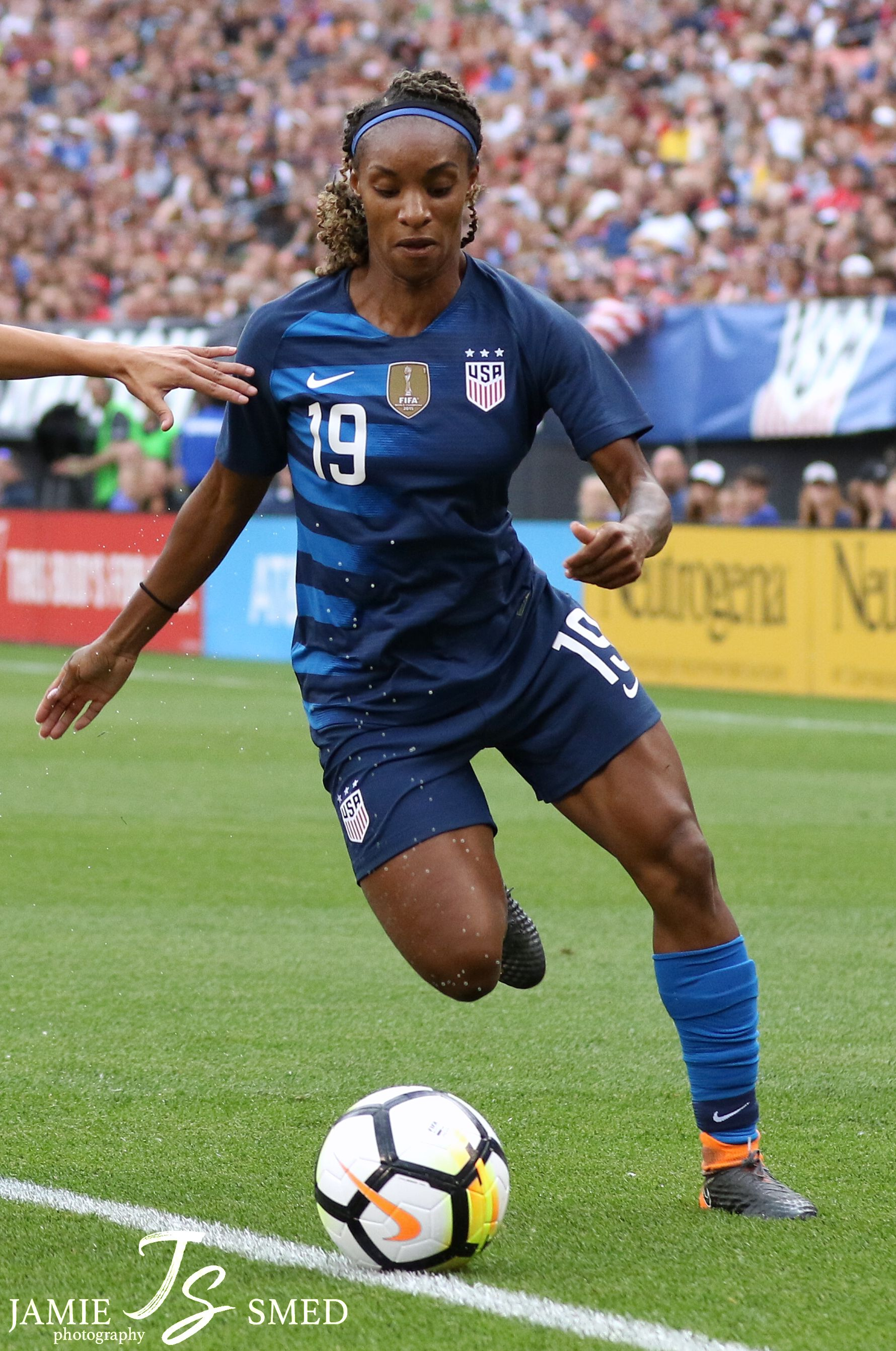 Crystal Dunn Uswnt Uswnt Soccer Womens Soccer Football Players Images