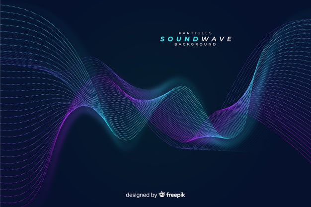 Download Dark Sound Particles Wave Background For Free Texture Music Waves Background Event Poster Design