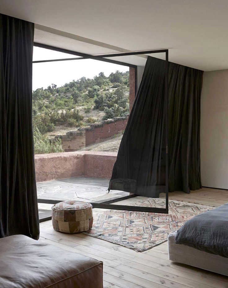 Interior Spaces - Modern Tribal Drinnen, Gardinen und Fenster - moderne marokkanische wohnzimmer
