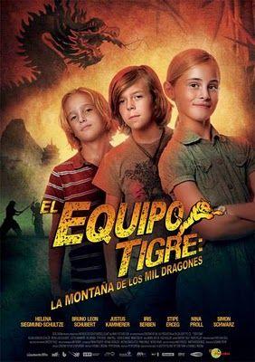 El Equipo Tigre: La montaña de los mil dragones. Mediateca Anabel Segura. DV L equ