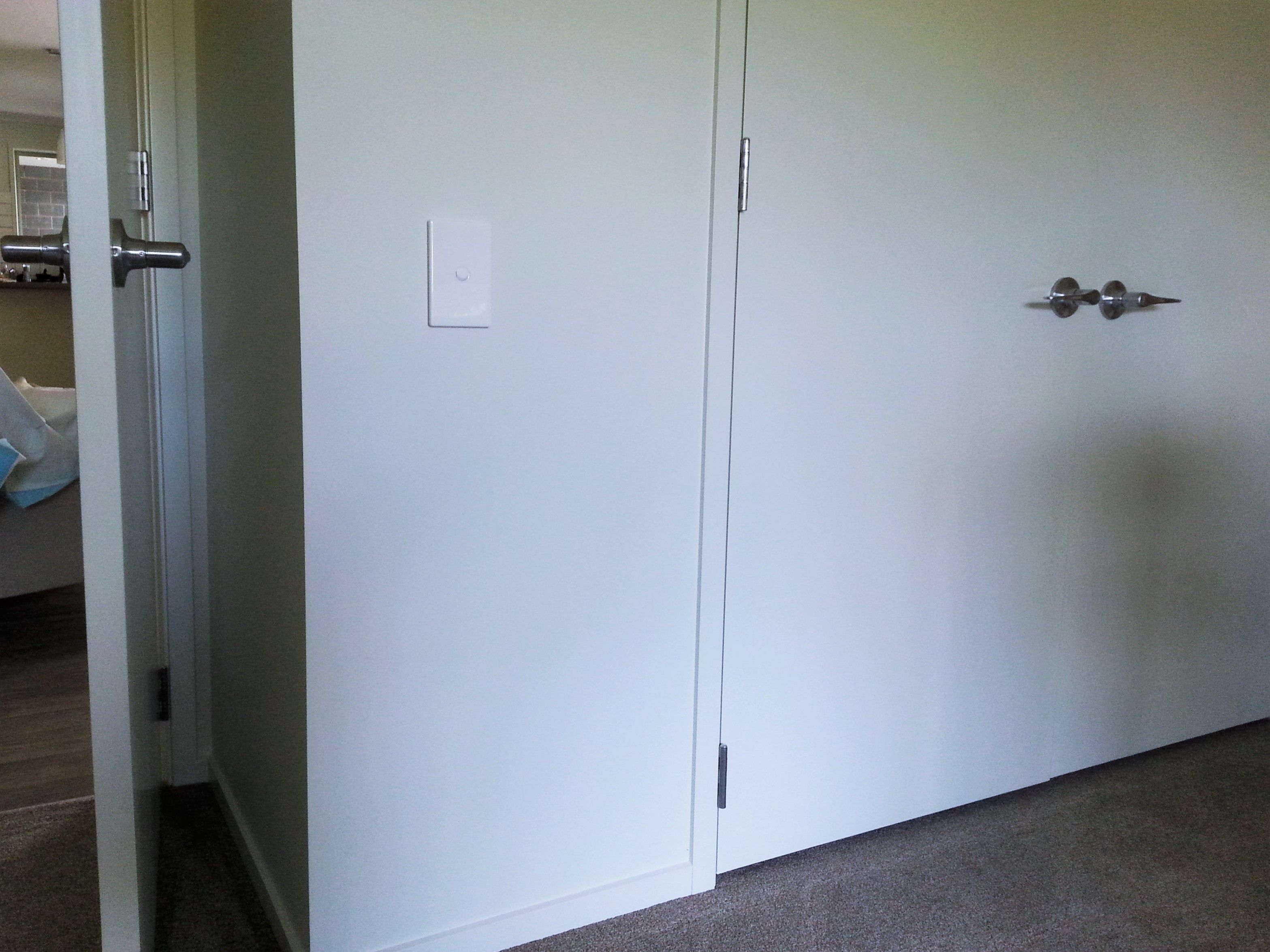 Light Switches At A Height Aligned With Lever Action Door Handles