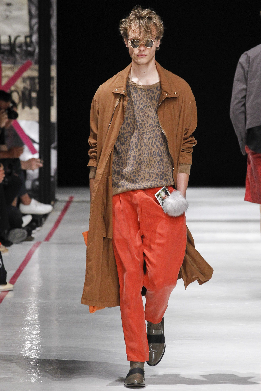 Robert geller spring menswear fashion show menus trends fall