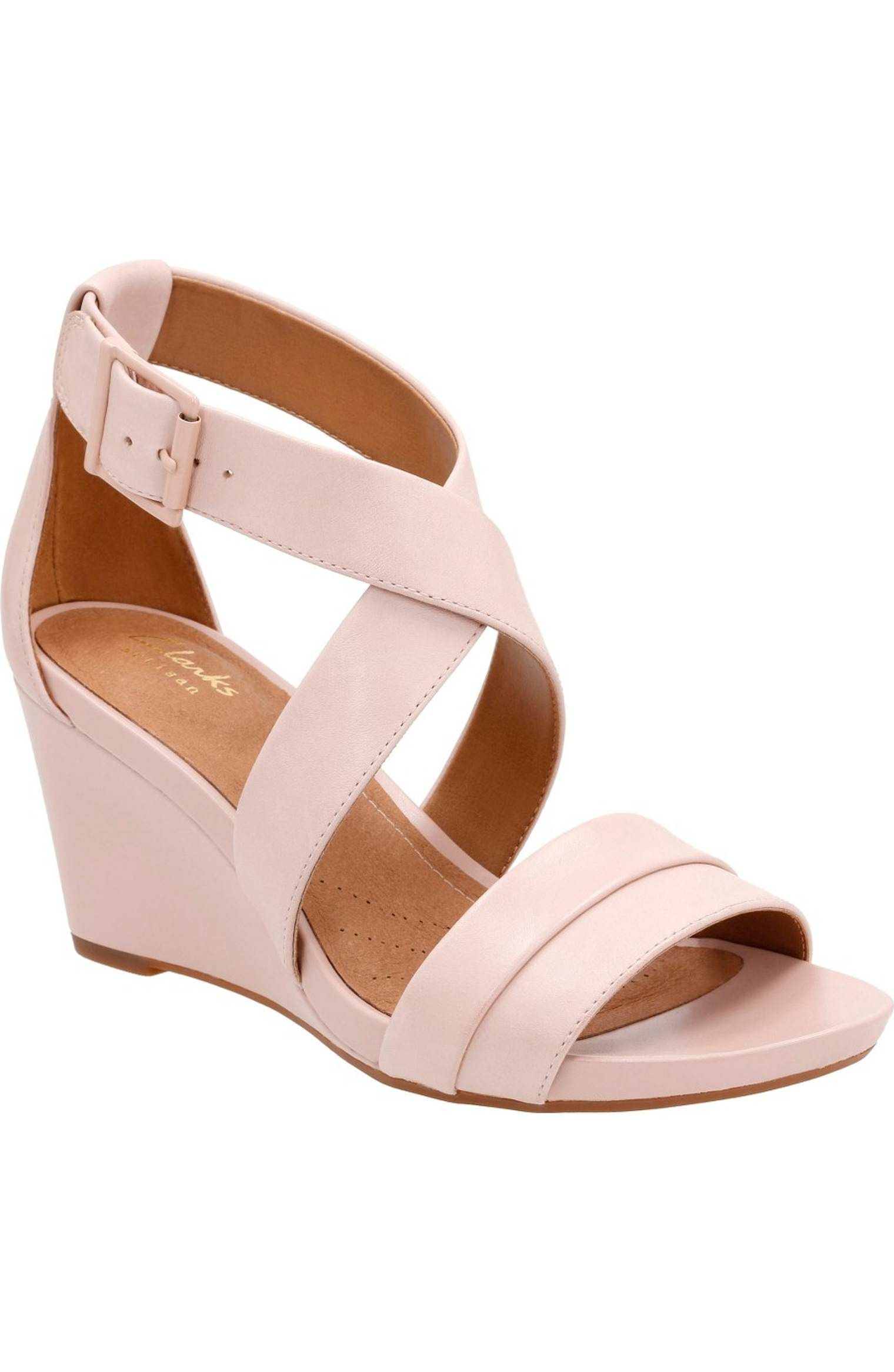 Clarks® Acina Newport Wedge Pump (Women   Clarks shoes women