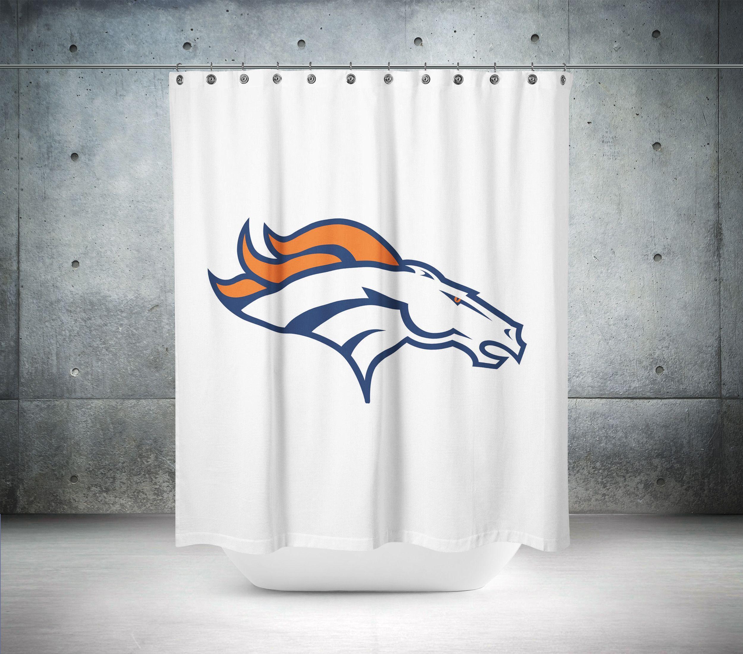 Denver Broncos NFL Shower Curtain