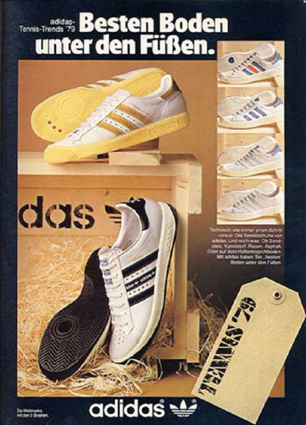 Forest Hills Adidas Tennis Shoe Vintage Ad with Forest Hills Tennis Stadium  | adidas ads | Pinterest | Tennis, Adidas and Vintage