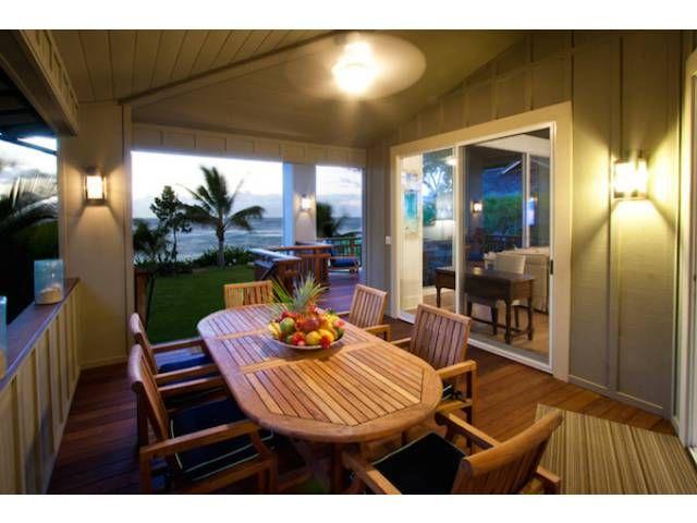 Banana Beach House Vacation Al Haena Kauai Hawaii Life