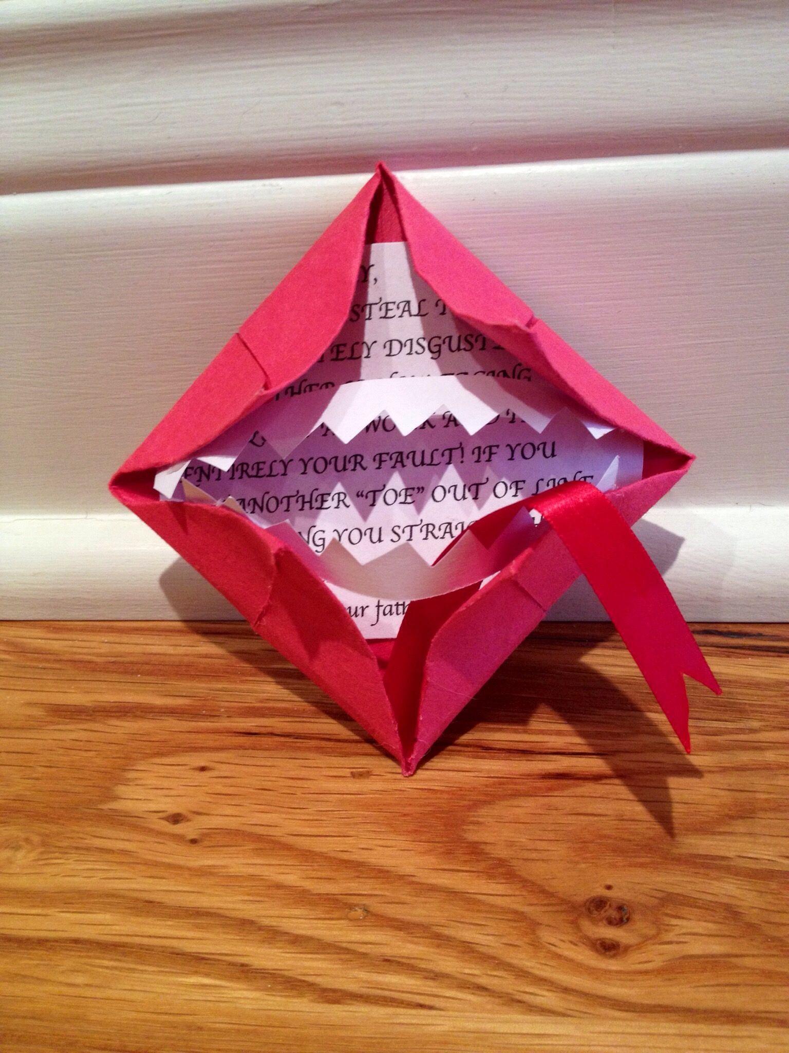 Днем рождения, открытки оригами на день рождения подруге