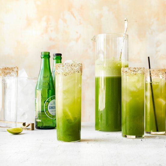 Get the recipe for this Ecto Chelada mocktail from Food & Wine.