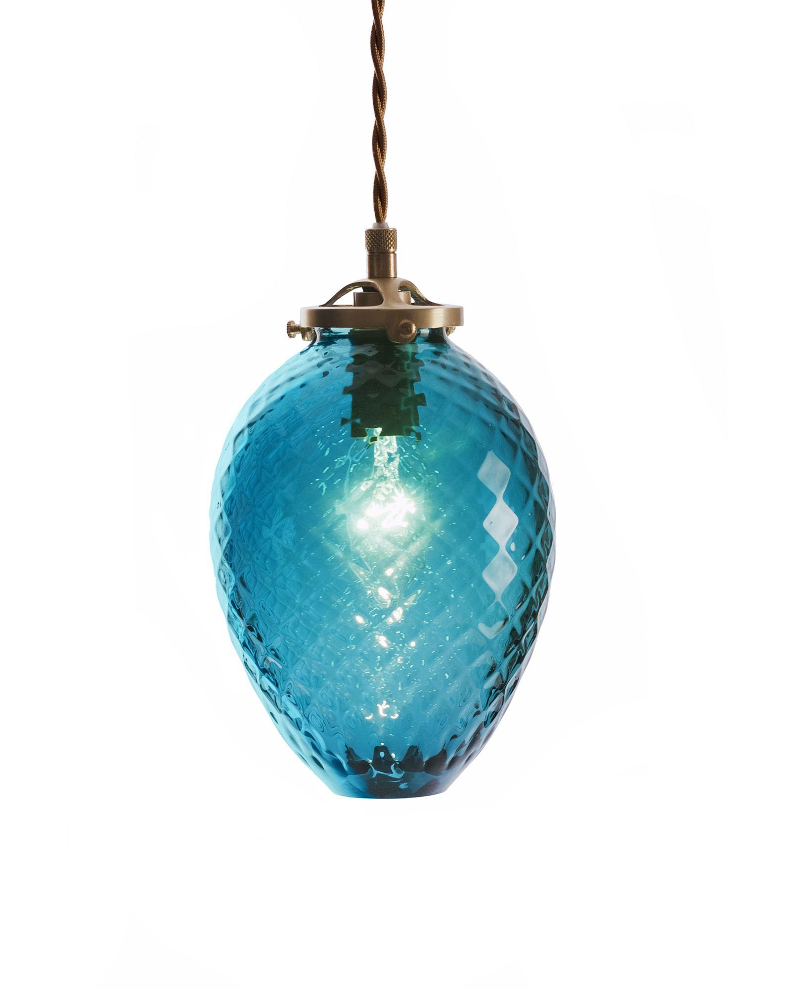 Gem glass pendant light