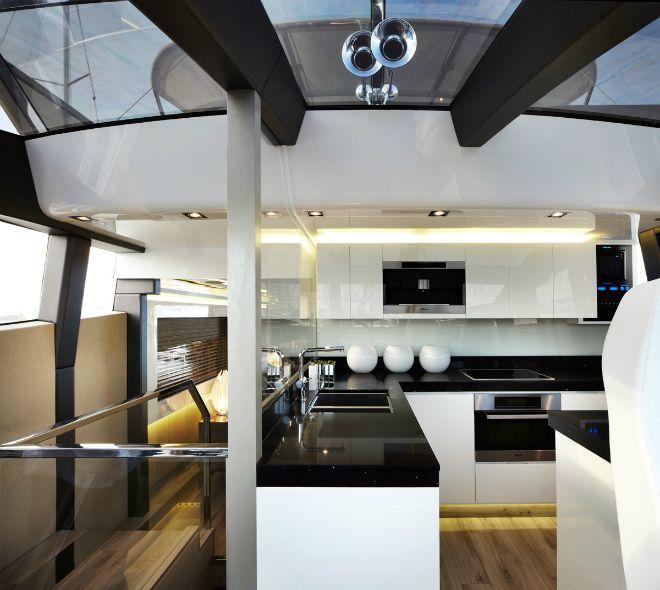 Pearl 75, a modern yacht\'s design   Luxury yachts