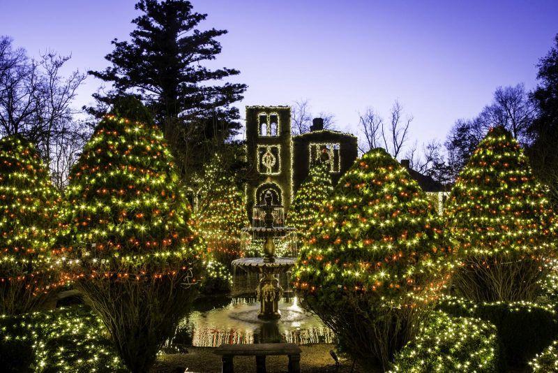 Barnsley Resort Best christmas light displays, Holiday