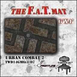 F A T Mat Urban Combat 2 6x4 Frontline Gaming Uk Webstore Game Uk Urban Mats