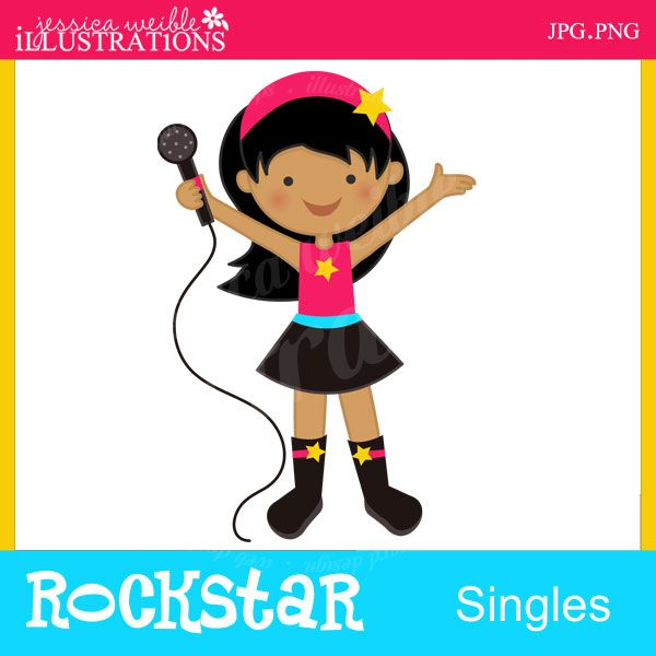 Clip Art Rock Star Clip Art 1000 images about rock n rll on pinterest web studio cute clipart and music drawings