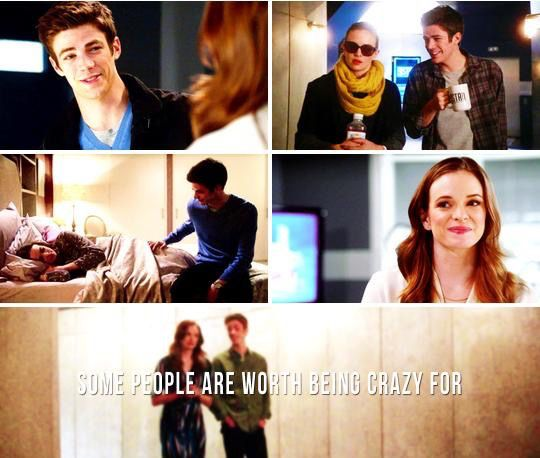 #Flash, #Snowbarry Barry and Caitlin ..meant to be <3. I love her and Ronnie but honestly I can't help but ship them.