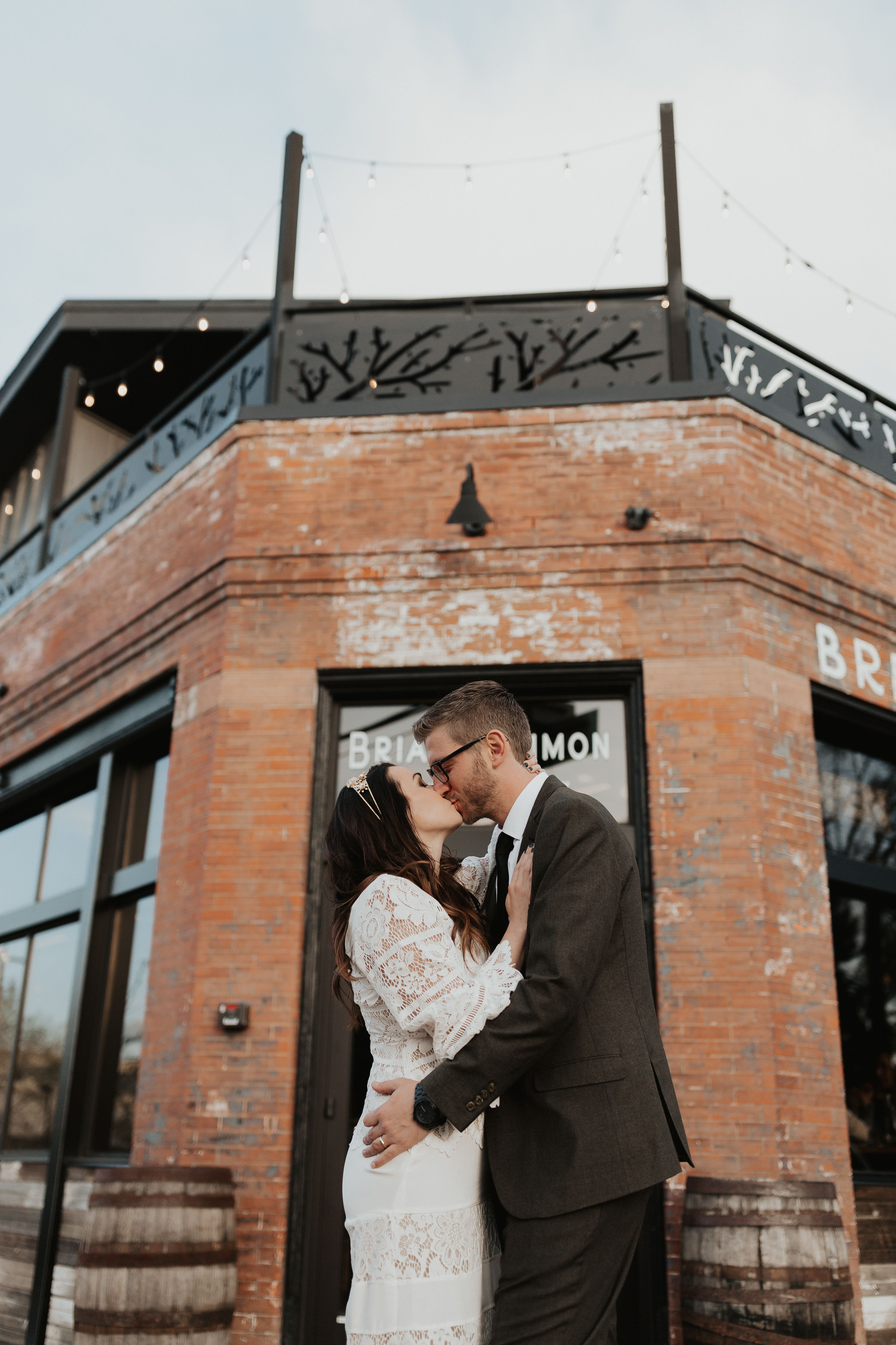 Denver Wedding At Briar Common Brewery Colorado Wedding Photographer Denver Wedding Photography Colorado Wedding