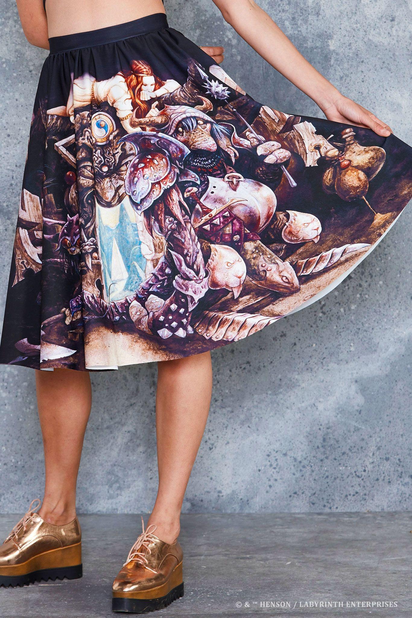Snack Goals Disney Parks Inspired Midi Pencil Skirt