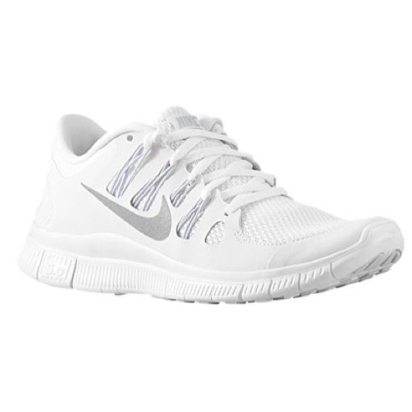 innovative design 27db6 f0ba3 ISO Nike Free Run 5 Looking for the all white Nike Free Run 5.0 5+ style. Nike  Shoes