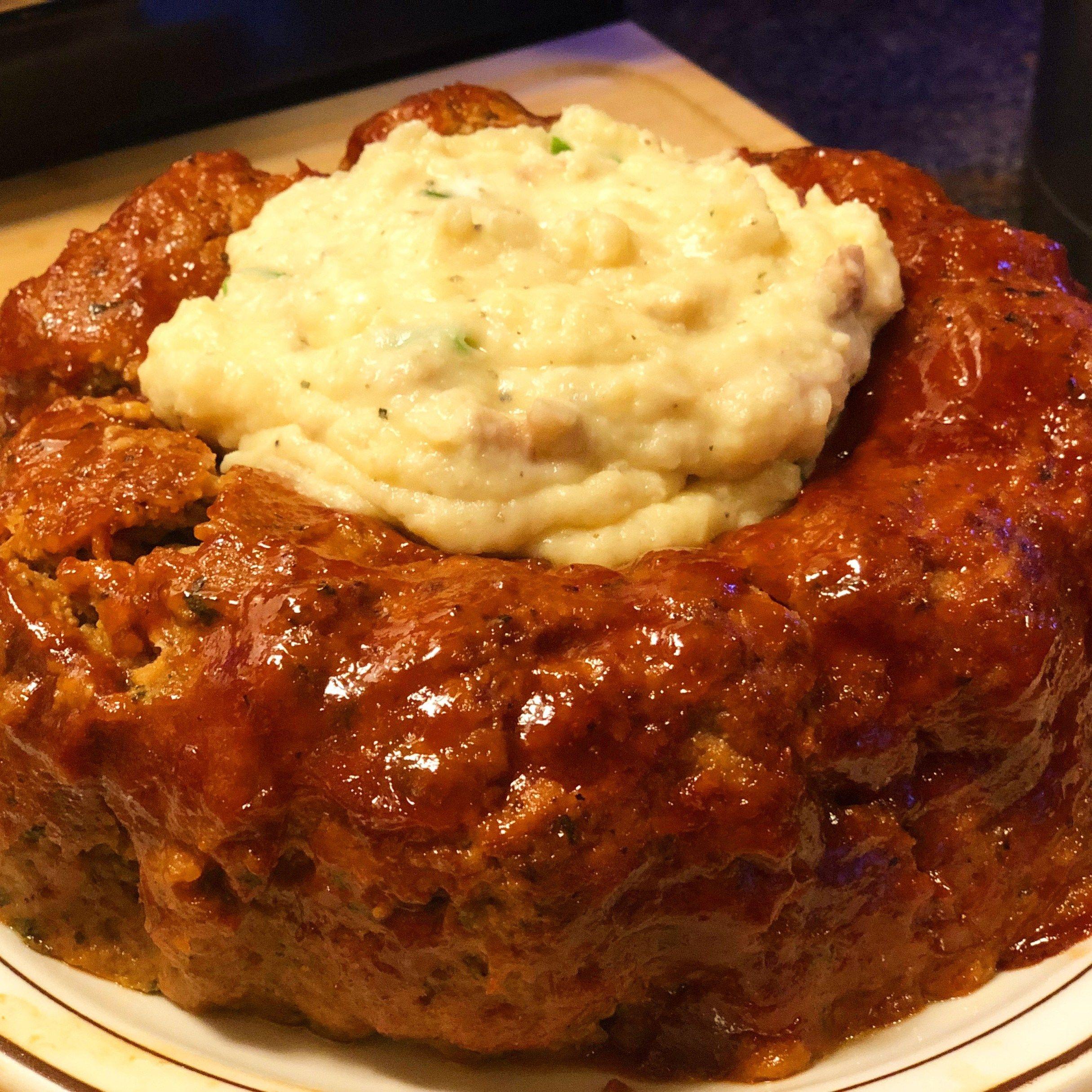 Instant Pot Best Meatloaf Mashed Potatoes Pressure Luck Cooking Recipe Best Meatloaf Recipes Instant Pot Recipes