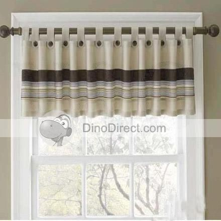 Top Tab and Balloon Style Window Valances | Ideas for Bathroom ...