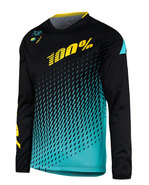 Visit to Buy  2017 Mountain downhill Bike DH MX MTB racing clothes  Off-road Motocross Jersey men long sleeve cycling Jersey shirt cicl. Supra  Black   Cyan 2174b0389