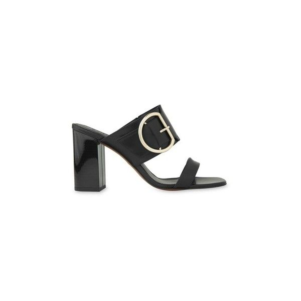 fairhope buckle high sandal (2,295 MXN) ❤ liked on Polyvore featuring shoes and sandals
