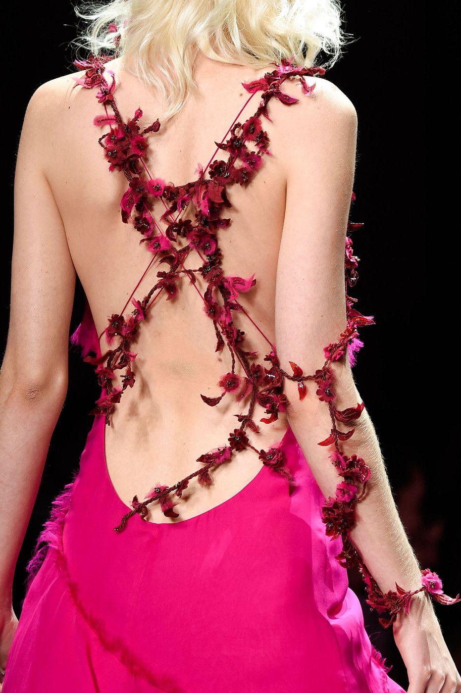 Atelier Versace at Couture Fall 2015 | Vestidos de noche, Pasarela y ...