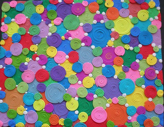 "1000 + 1 Rainbows - ""Do not disturb my circles"" by klio1961, via Flickr"