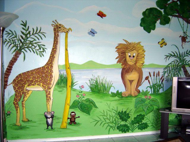 Jungle Mural Children S Nursery