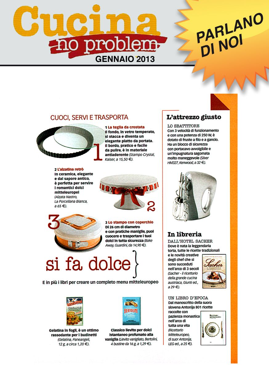 Cucina No Problem Cucina No Problem Magazine Bakeaway About Us Cucina This