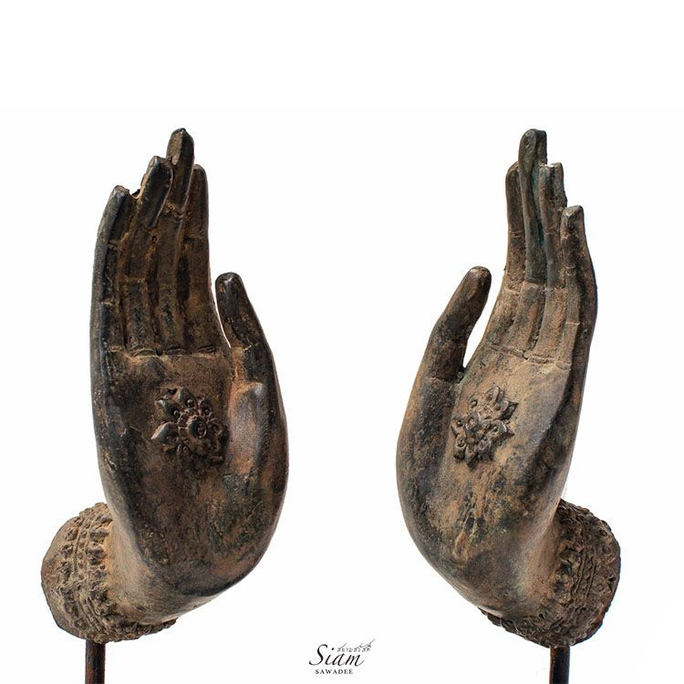 Buddha Hand Statues Freedom Gesture In Pair Hand Statue Hand Sculpture Buddha Sculpture