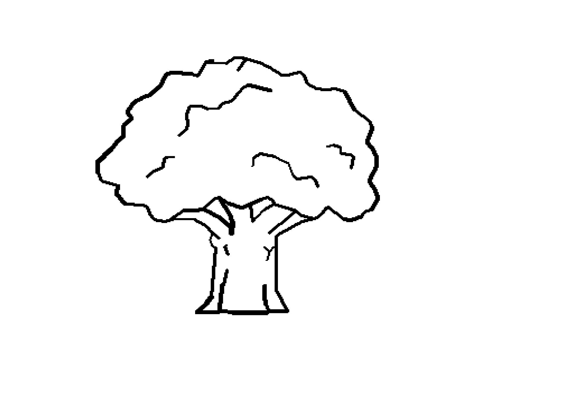 clip art black and white | clipartist.net » Clip Art » Tree Black ...