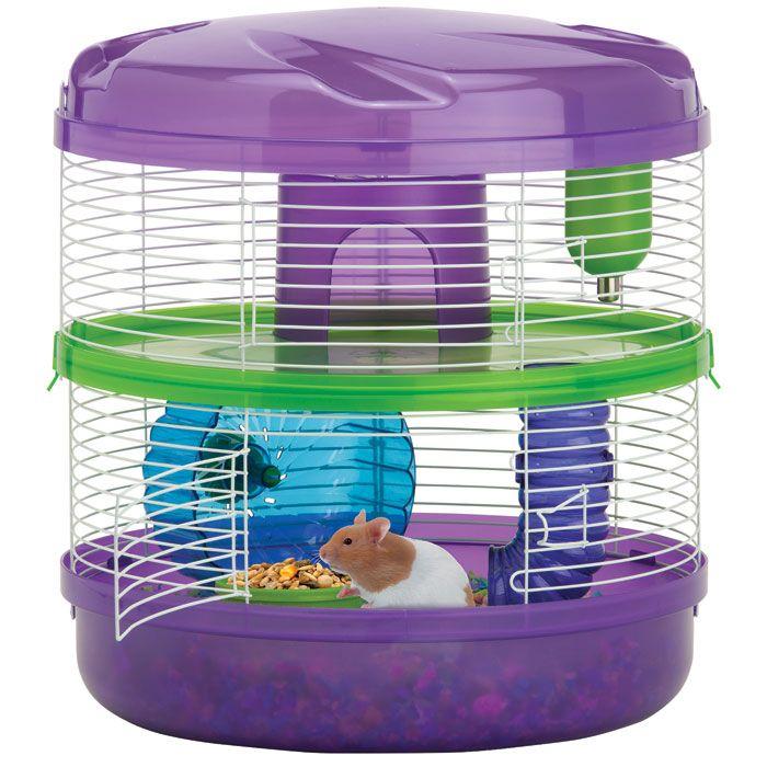 Kaytee Crittertrail 2 Level 360 Habitat Small Animal Cage Hamster Habitat Small Pet Supplies