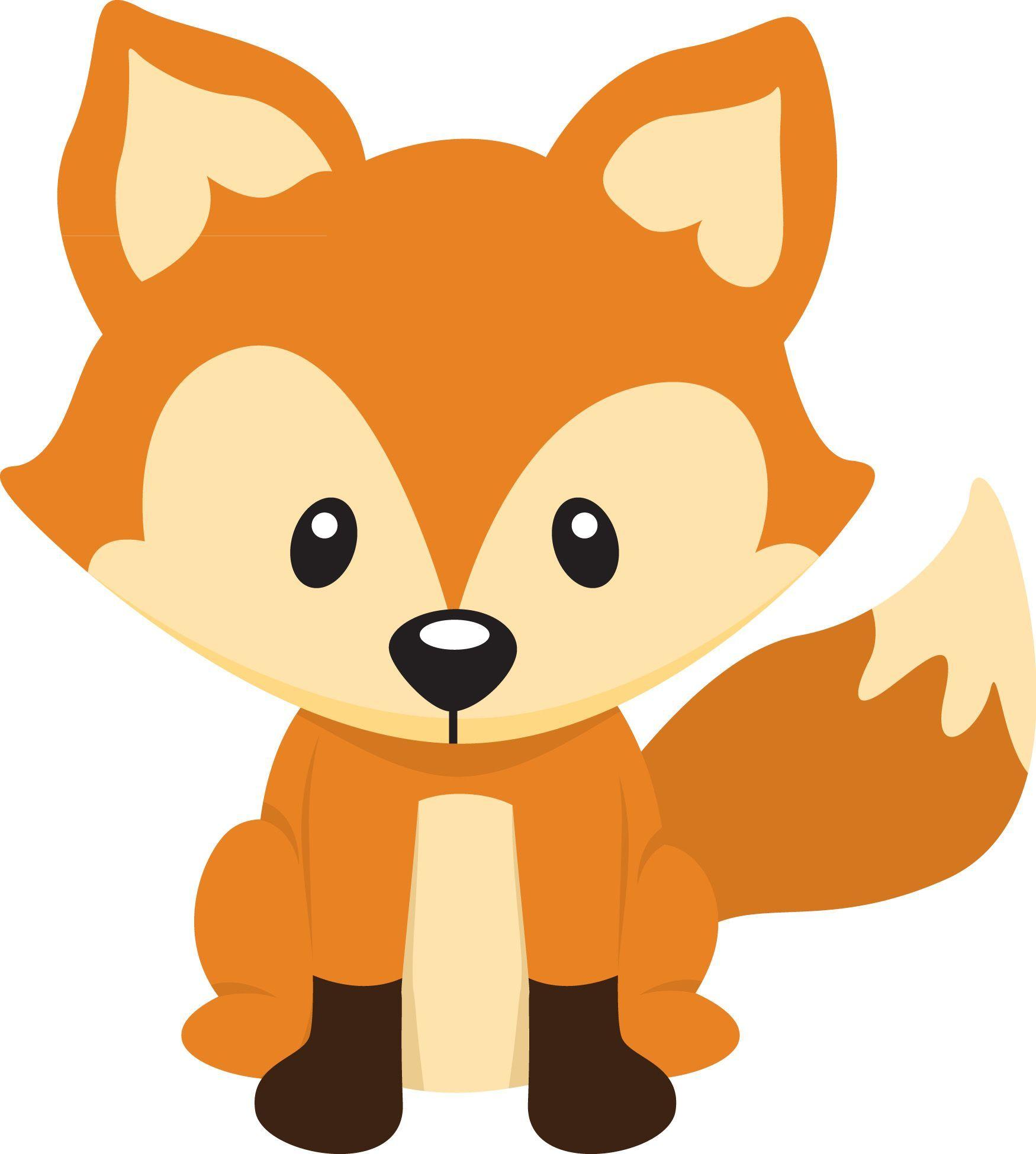 Pin By Estefania Sangiacomo On Animal Fox Baby Shower Baby Fox Woodland Animals