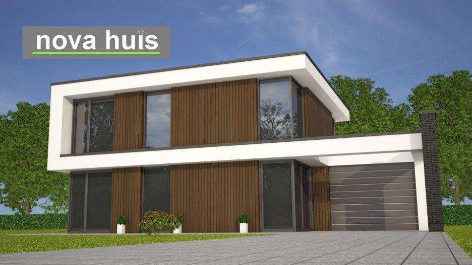 huis ontwerp modern kubistisch woonhuis met veel glas