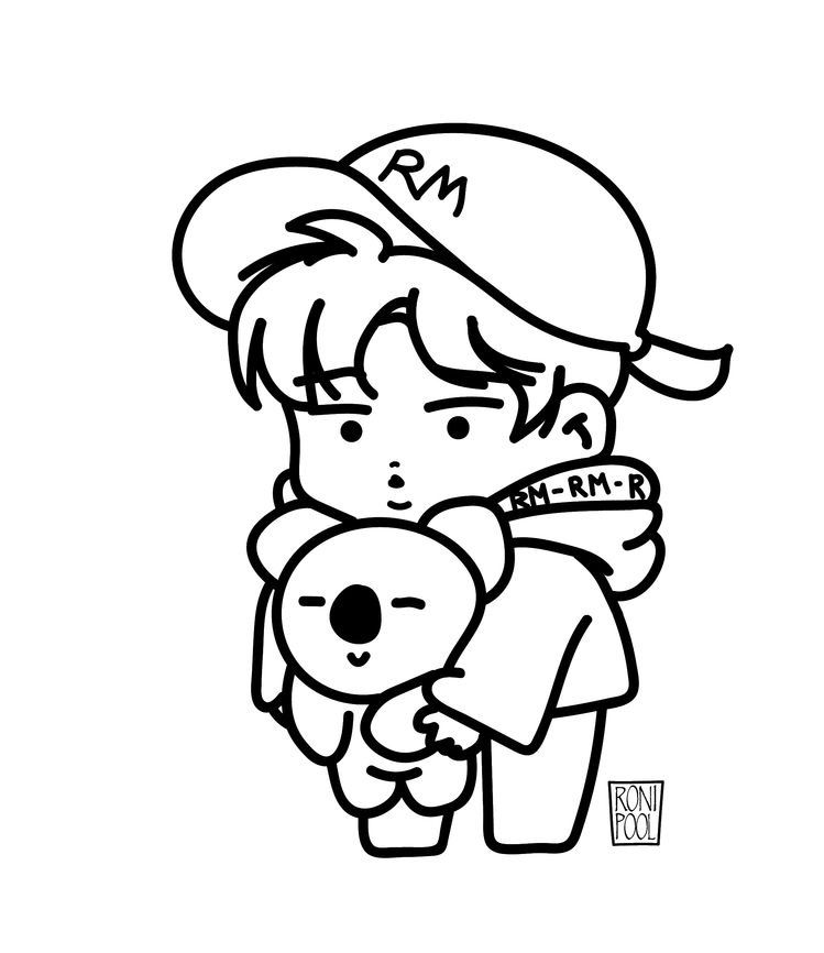 Pin by Army_bts on Раскраски чек))) in 2020 | Bts drawings ...