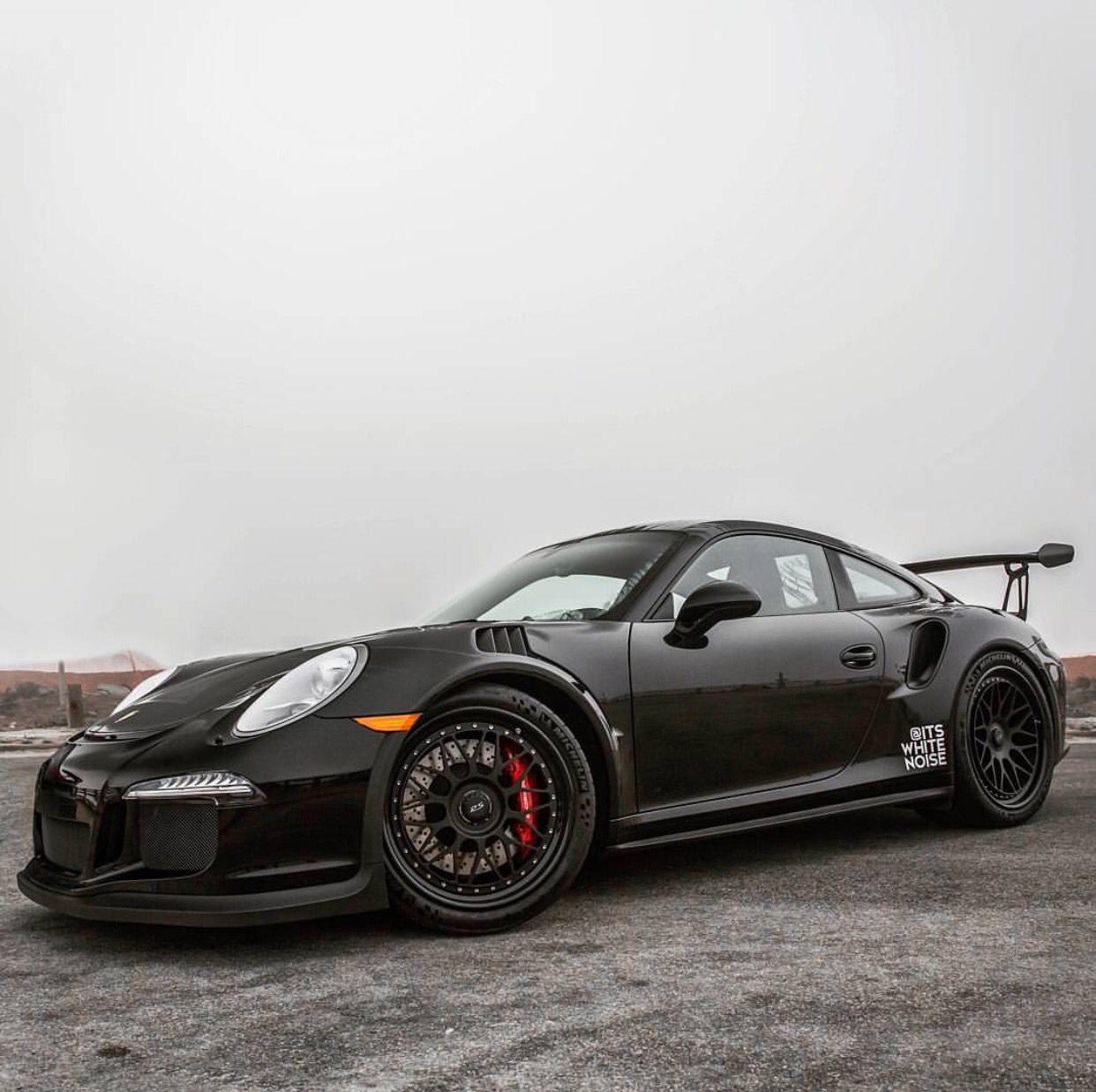 Porsche 991 GT3 RS painted in Black  Photo taken by: @farisfetyani on Instagram…