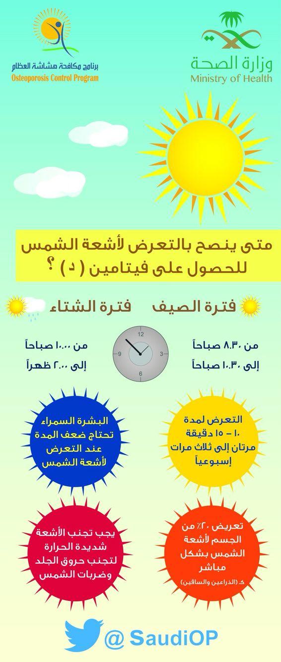 فيتامين د Health Advice Health Body Care